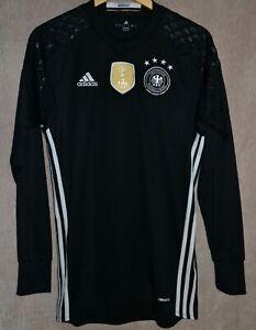National Germany DFB Euro 2016 2017 Goalkeeper Shirt AA0127 Size S Kit Adidas