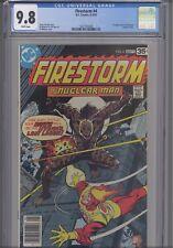 Firestorm #4 CGC 9.8 1973 DC ( First Hyena Issue) Comic: New Frame