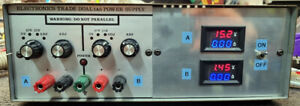 Bench linear dual power supply - 1.5-15VDC @ 5A
