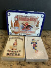 Anheuser Busch Budweiser RARE MADE IN ENGLAND Playing Cards Sealed 1988 Vintage