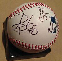 Aaron Brooks Ducks Signed Baseball Autographed PSA JSA Guaranteed COA Oregon