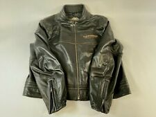 Harley Davidson Men's 105th Anniversary Winged B&S Leather Jacket Size 3XL