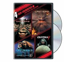 4 Film Favorites: Critters 1 2 3 4 Collection [DVD set, Horror Leo DiCaprio] NEW