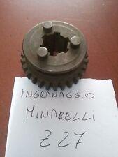 INGRANAGGIO CAMBIO MOTORI MINARELLI Z27