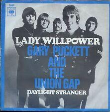 7inch GARY PUCKETT & THE UNION GAP lady willpower HOLLAND 1968 EX