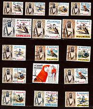 FUJEIRA  les oiseaux:Perroquets,autruches,faucons,et tropicaux   1m380