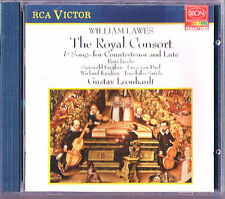 William LAWES The Royal Consort RENE JACOBS S&W KUIJKEN GUSTAV LEONHARDT CD RCA