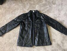 Vintage Leather Jacket Mens