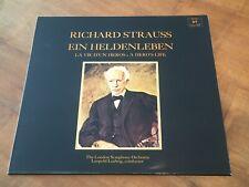 Richard Strauss Ein Heldenleben LEOPOLD LUDWIG CONCERT HALL TURICAPHON LP NM
