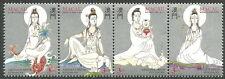 Macau - Legenden und Mythen (II): Kun Iam Viererstr. postfr. 1995 Mi. 799-802