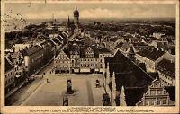 Wittenberg Sachsen-Anhalt AK ~1920/30 Lutherstadt Markt Schlosskirche Kirche Dom