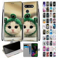 PU Leather Wallet Phone Case Cover Flip Stand For LG Stylo 5/Stylo 4/K10/K9/K8