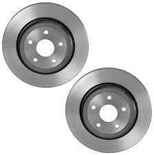 Brembo Pair Set of 2 Rear UV Coated Disc Brake Rotors For Durango Grand Cherokee