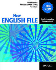 New English File Pre-Intermediate: Student's Book: Six-Level General English Course for Adults by Paul Seligson, Christina Latham-Koenig, Clive Oxenden (Paperback, 2005)