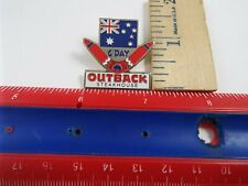 OUTBACK STEAKHOUSE PIN G-DAY FLAG & BOOMARANG