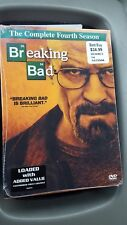 BREAKING BAD SEASON 4 (DVD, 2012, 4-Disc Set) NEW