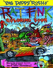 """1992 - ED """"BIG DADDY"""" ROTH RAT FINK COLORING BOOK POSTERS"""
