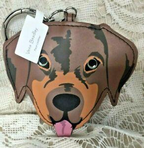 VERA BRADLEY Dog Bag Charm - Holiday Dogs - NWT