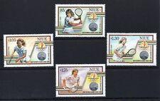 Niue 1988 Seoul Olympics 2nd issue MNH set S.G. 653-656