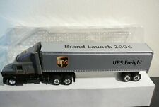 UPS Freight tractor trailer diecast advertising brand collectible original 2006