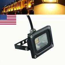 10W AC110V LED SMD Flood Light Warm White Outdoor Security Work Light Spot Lamp