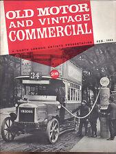 Old Motor + Vintage Commercial Feb 64 Sizaire et Naudin Invicta Jaguar SS NSU +