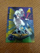 NATRON MEANS 1995 Pinnacle Zenith Edition Z Team San Diego Chargers