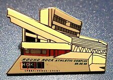 CLASSIC HOK ARCHITECTRE ROUND ROCK STADIUM RARE VINTAGE lapel pin  DEDICATION