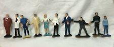 *10 Different 1960's Gilbert JAMES BOND 007 Figures Figurine Toys