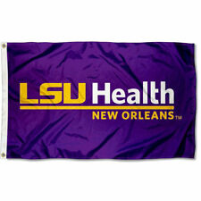 LSU Health New Orleans Flag Large 3x5
