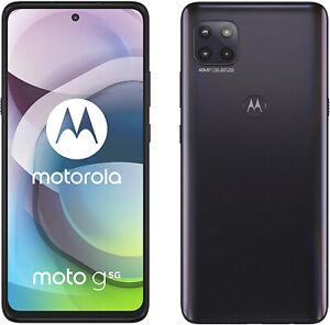 """New Motorola Moto G 5G Volcanic Grey 6.7"""" 128GB Dual SIM Andriod 10 Unlocked Sim"""