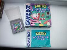 RARE-authenthic Kirby Pinball Land-Game BOY, Scatola, manuale