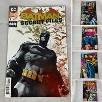 (Lot Of 5) Batman Secret Files #1, Showcase '93, Batman 493, 494, 502 DC Comics