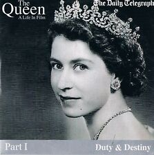 The Queen A Life In Film - All 9 issues - DVD N/Paper