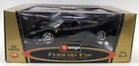 Burago 1/18 Scale Diecast 3382 Ferrari F50 1995 Coupe Black Model Car