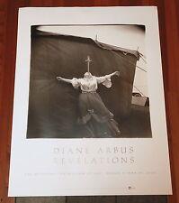POSTER Diane Arbus - Albino Sword Swallower - OOP & rare print