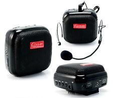 25W Mini Portable Voice Booster PA Amplifier Megaphone For Teacher Coach Guider