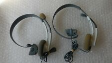 OFFICIAL XBOX 360 HEADSET HEADPHONE WITH MIC FOR MICROSOFT XBOX 360
