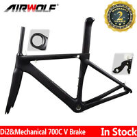 T1000 Aero Carbon Frame Road Bike Cycling Racing Frames Bicycle Frameset 700C