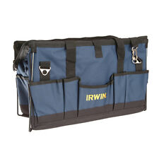 IRWIN SOFT SIDED TOOL ORGANISER TOOLBAG STORAGE - SAWS, LEVELS, TOOLS