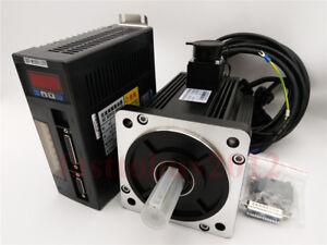 1.5KW AC Servo Motor NEMA52 10NM Drive System Kits 1500RPM For CNC Mill Router