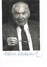 Julius Hackethal † 1997 Arzt und Autor handsigniert