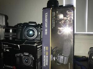 Panasonic LUMIX G7 16.0 MP Interchangeable Lens Camera - Black (Kit with...