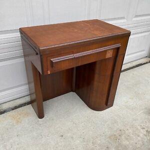Singer Cabinet Desk Empty Art Deco Vintage Sewing Machine 401 403 404 500 503+