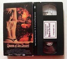 VHS: Emanuelle Queen of the Desert (The Dirty Seven) 1982 Laura Gemser III-Star