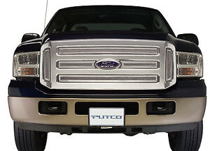 Putco Chrome Liquid Mesh Grille fits 05-07 Ford Super Duty F250 F350 Powerstroke