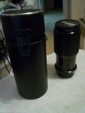 EIKOR ZOOM LENS 1:4.5 f=70-210mm 55 No.701842 w/ KALIMAR 55mm UV FILTER + CASE
