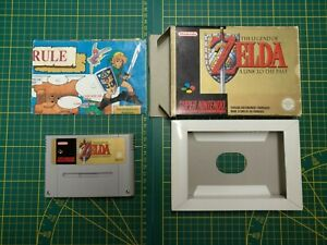 The legend of Zelda A Link to the past incomplet FAH SNES Super Nintendo