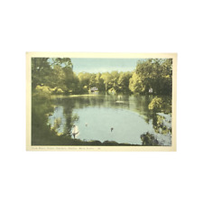 P01A Duck Pond Nova Scotia Post Card: 1949 Halifax Post Mark - 3¢ Canada Stamp