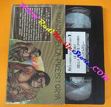 VHS film IL MONDO DELLA PREISTORIA 1 Le radici della specie umana (F139) no dvd